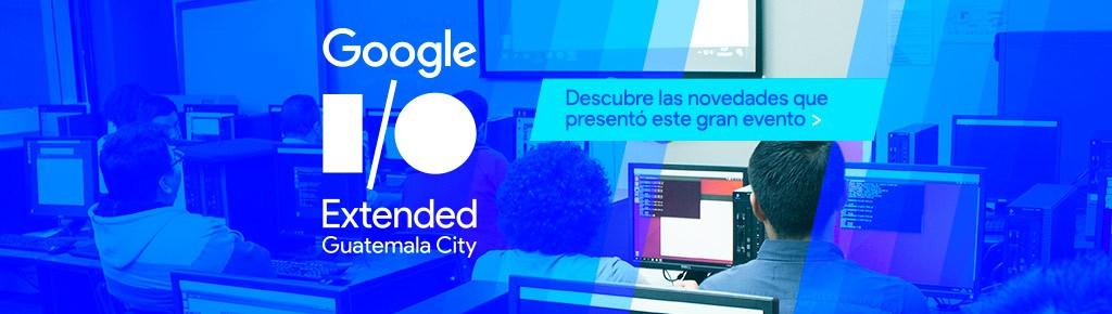 Imagen: Google I/O extended en Guatemala expande horizontes tecnológicos