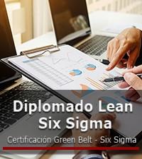 Imagen: Diplomado Lean Six Sigma con certificación Green Belt