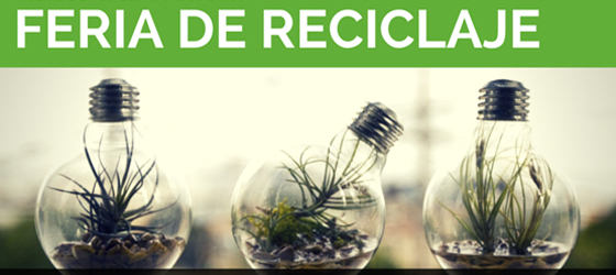 Imagen: Asiste a la Primera Feria de Reciclaje