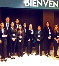 Imagen: Estudiantes de Diplomacia apoyan al Foro Nacional de Responsabilidad