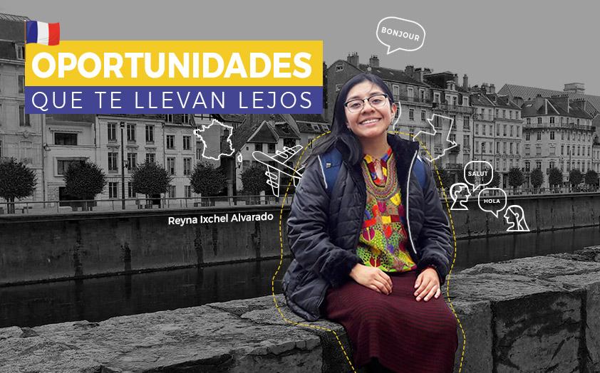 Futura Diplomática guatemalteca en tierras francesas