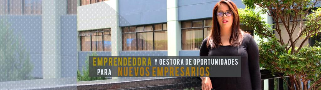 Imagen: Estudiante, emprendedora y gestora de oportunidades para nuevos empresarios