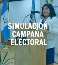 Imagen: Simulación de Campaña Electoral permite a estudiantes dominar