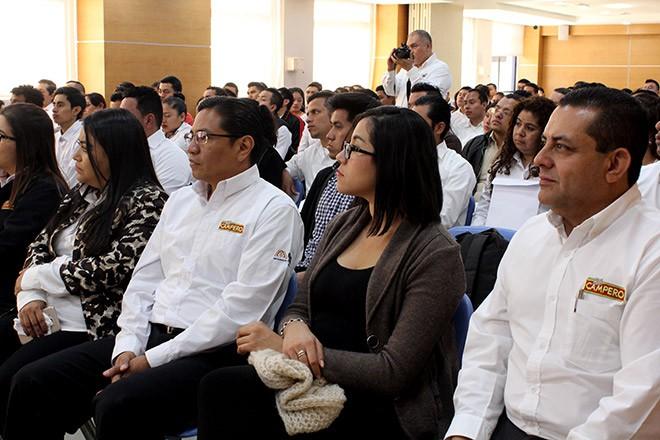 Imagen: Bienvenida programa especial a colaboradores de Corporación Campero