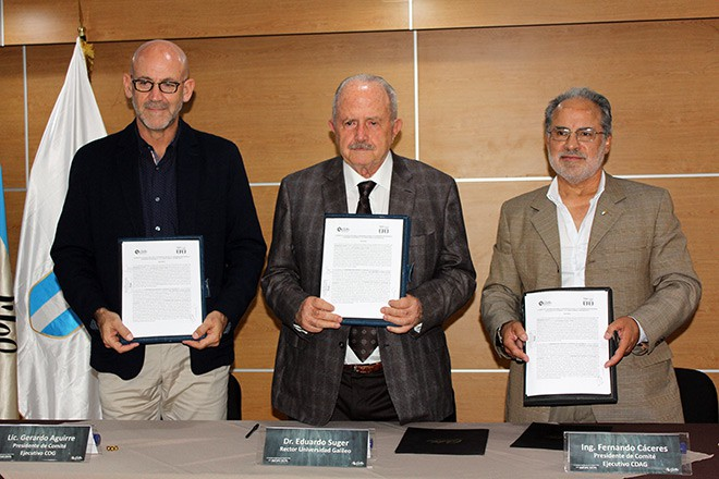 Imagen: U Galileo firma acuerdo de cooperación con COG y CDAG