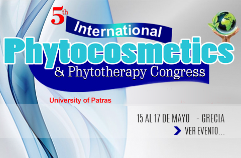 Imagen: V Congreso Internacional de Fitocosmética