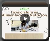 Licenciatura en Alimentación y Nutrición
