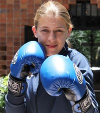 Imagen: Jean Marie Kritschey Nutricionista y aguerrida boxeadora