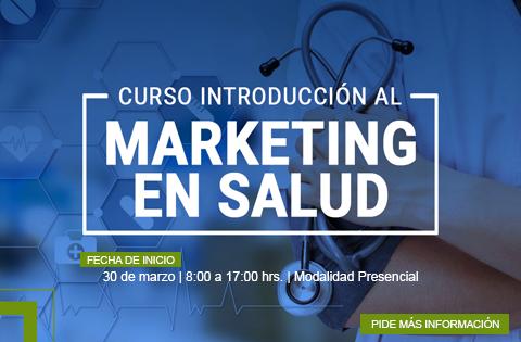 Imagen: Curso Introducción al Marketing en Salud - spot