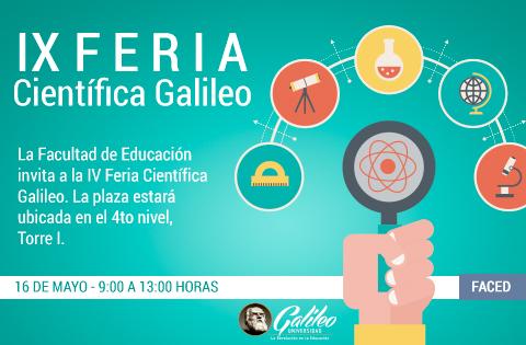 IX Feria Científica Galileo
