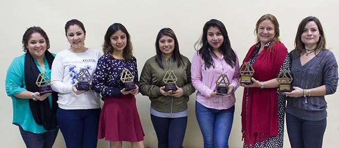 Imagen: Revista Amiga premia a estudiantes de Visagismo