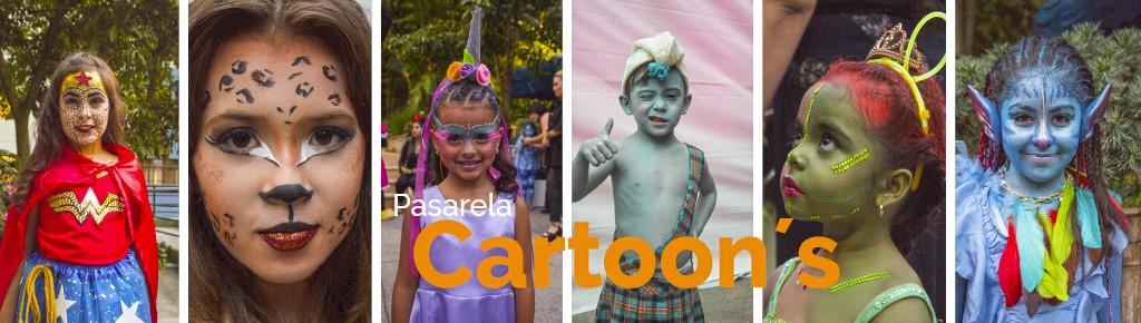 "Imagen: ""Pasarela Cartoons"" técnica, creatividad e impacto visual"