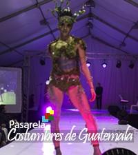 """Imagen: Noche mágica colores y diseños en Pasarela """"Costumbres de Guatemala"""""""