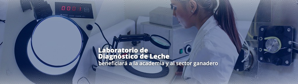 Imagen: Laboratorio de diagnóstico universitario de leche beneficiará a la