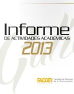 Informe de Actividades FACOM 2013
