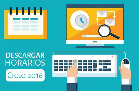 Imagen: Horarios 2016