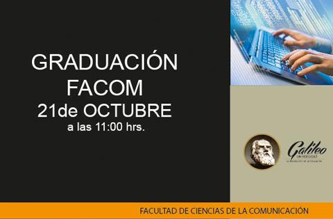 Imagen: Graduación FACOM