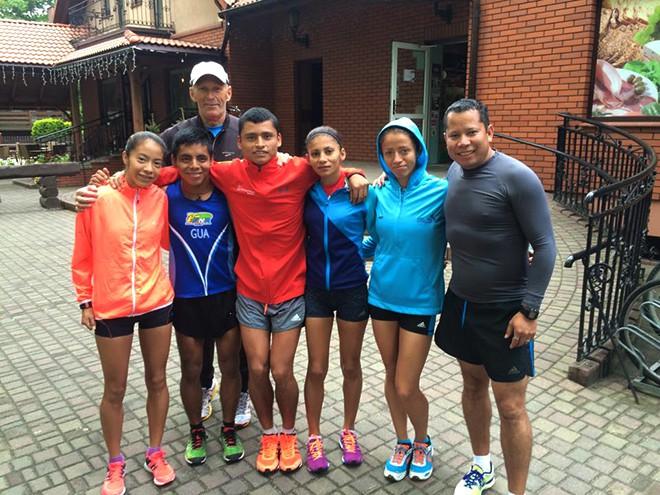 Imagen: Estudiantes rumbo a Juegos Olímpicos Rio 2016