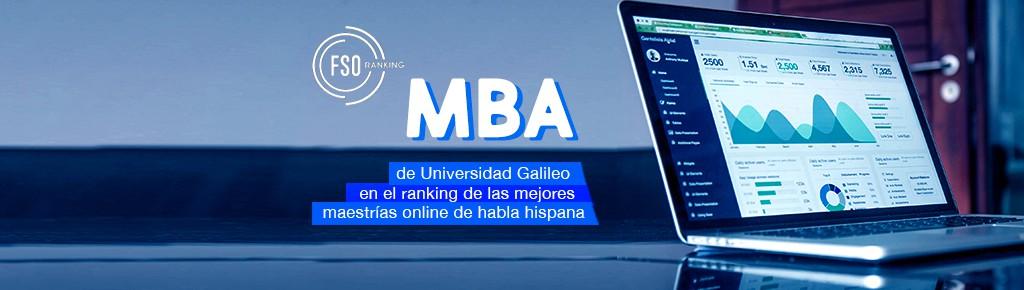 Imagen: MBA de U Galileo en el ranking de las mejores maestrías Online de