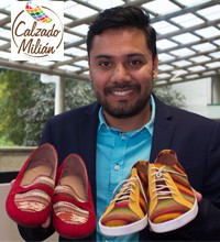 Imagen: Tienda de zapatos Milián de proyecto de clase al mercado guatemalteco