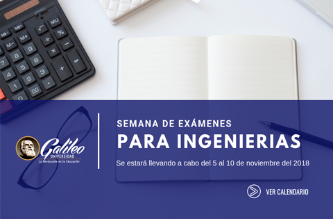 Imagen: Exámenes para Ingenierias