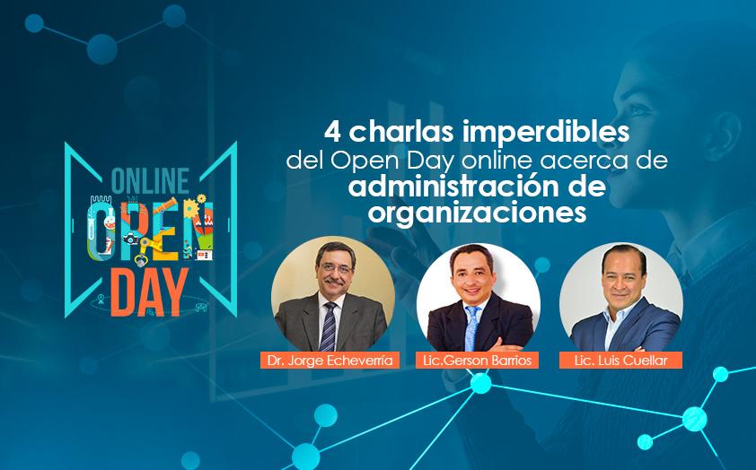 4 conferencias imperdibles del Open Day online acerca de administración y finanzas