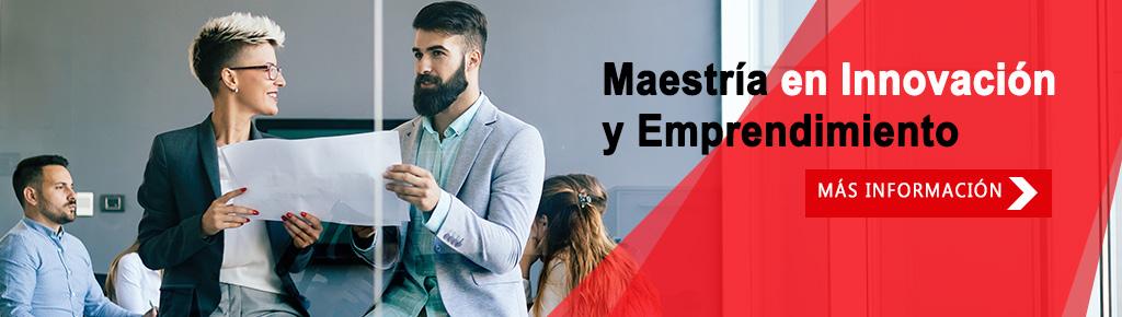 Imagen: Maestría en  Innovación y Emprendimiento