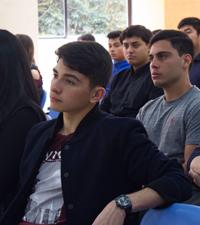 Imagen: Lección inaugural Facultad de Administración