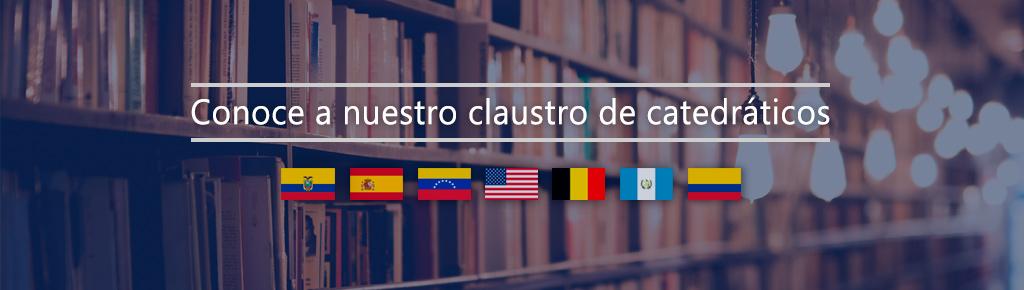 Imagen: Catedráticos Facultad de Administración