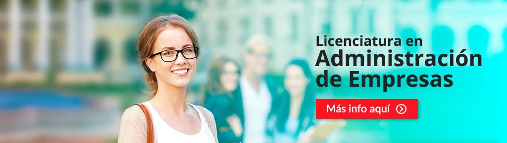 Imagen: Licenciatura en Administración de empresas