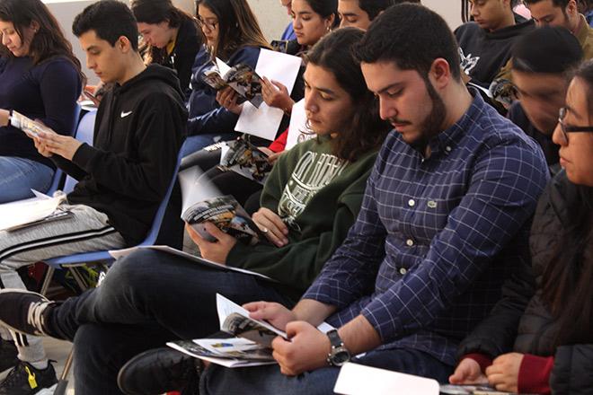 Imagen: Facultad de Administración da bienvenida a estudiantes de primer ingreso
