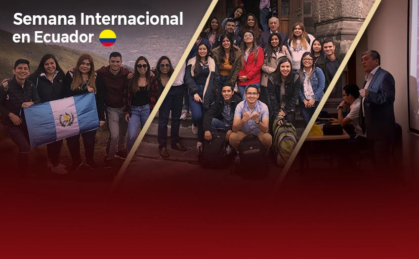 Aprendizajes, experiencias nuevas e intercambios culturales en la Semana Internacional en Ecuador