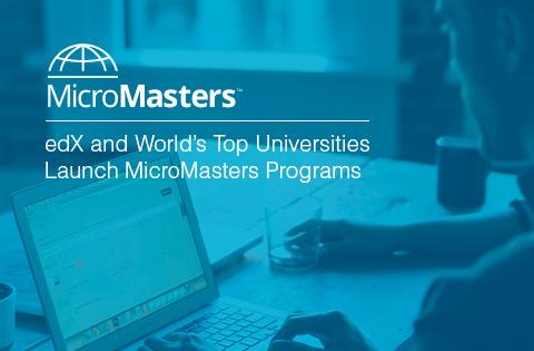 Imagen: Lanzamiento MicroMasters Programs