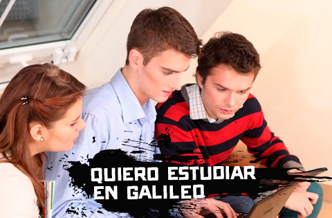Quiero estudiar en Galileo