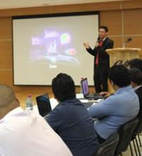 Imagen: Estudiantes presentan investigación sobre educación virtual