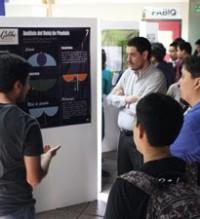 Imagen: Presentación de Posters científicos en U Galileo