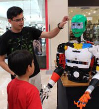 Imagen: Estudiantes de ingeniería promueven tecnología de primer nivel