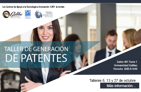 """Imagen: Taller de Generación de Patentes"""""""