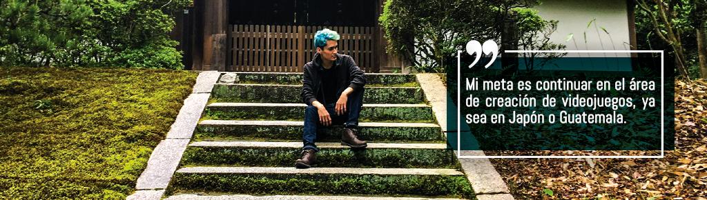 Imagen: Guatemalteco Creador de Videojuegos en Japón