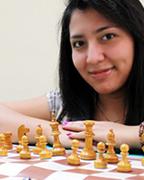 Claudia Mencos, campeona nacional de ajedrez