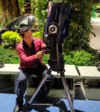 Imagen: Estudiantes de Astronomía contarán con nuevo telescopio