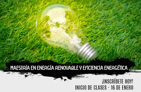 Imagen: Maestría en Energía Renovable y Eficiencia Energética
