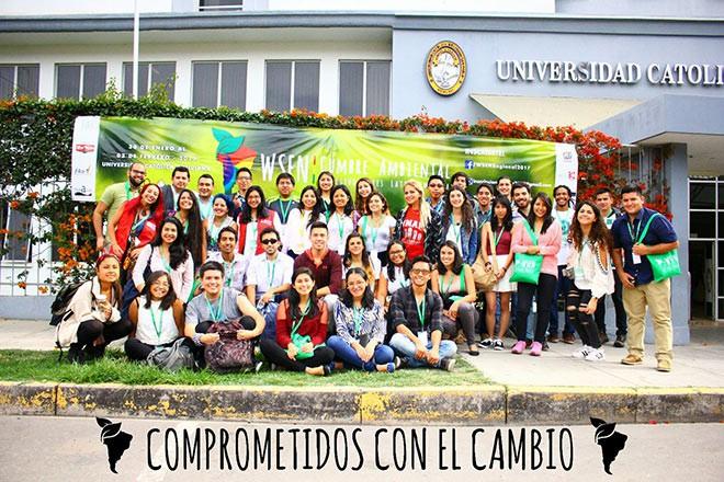 Imagen: Estudiantes de Sistemas Energéticos participan en Cumbre Ambiental 2017