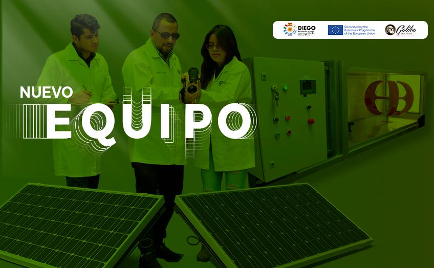 Nuevo equipamiento fortalece carreras en Energía Renovable y Eficiencia Energética