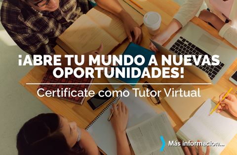 Imagen: Certifícate como Tutor Virtual