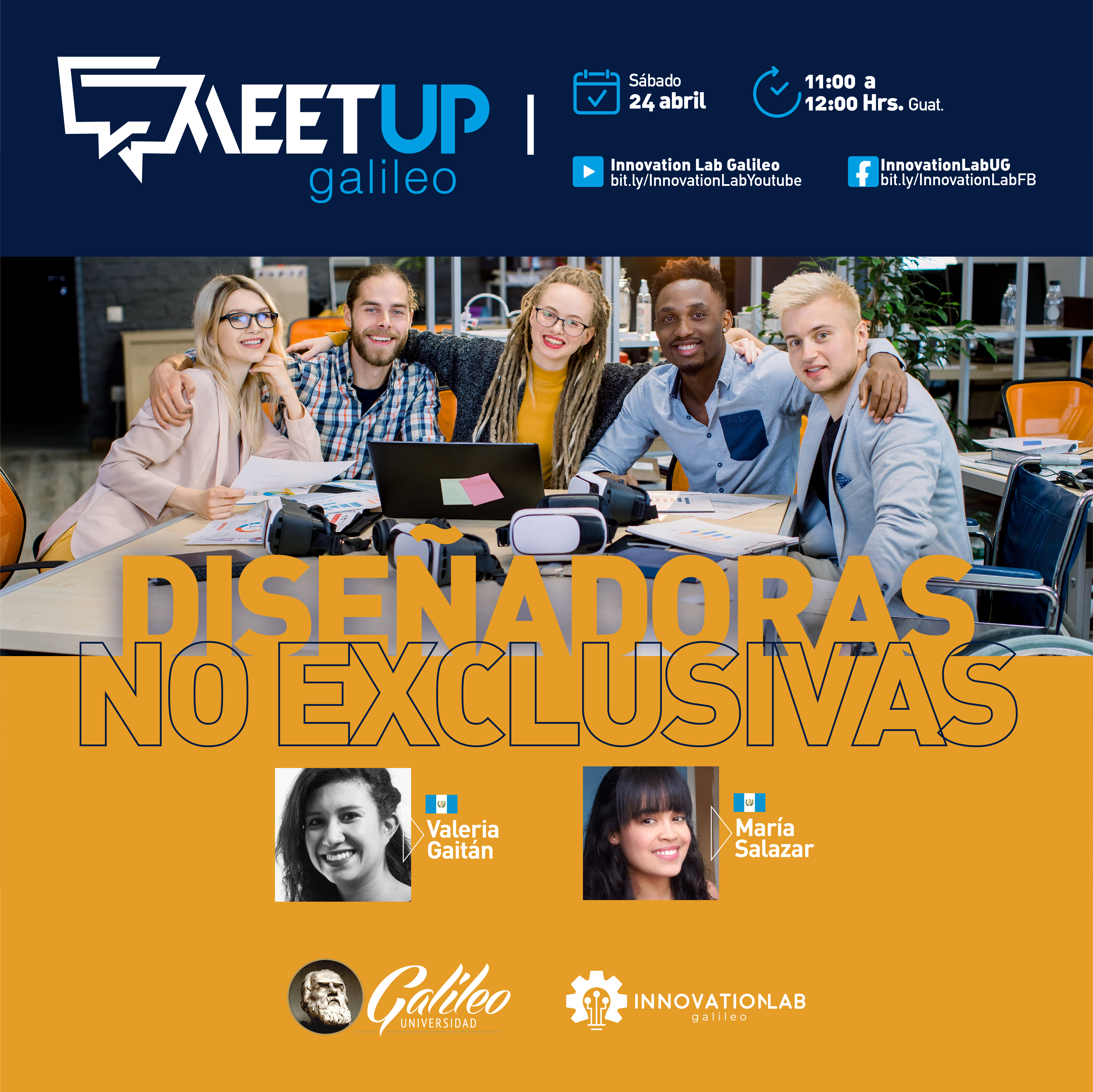 Meetup 4: Diseñadoras no Exclusivas