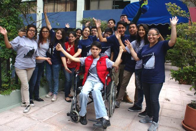 Imagen: Reportaje: Juventud llena de optimismo dispuesta a vencer sus límites