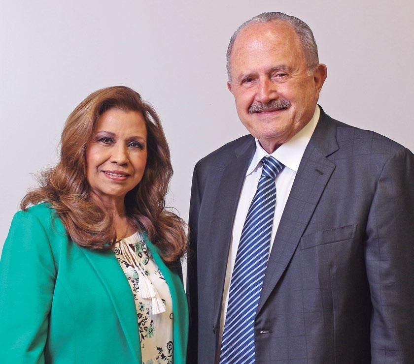 Eduardo Suger y Mayra Roldán