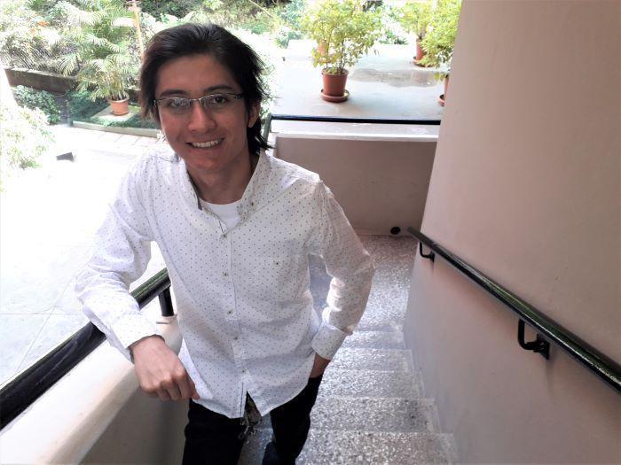 Kevin Hernández es estudiante de la Universidad Galileo