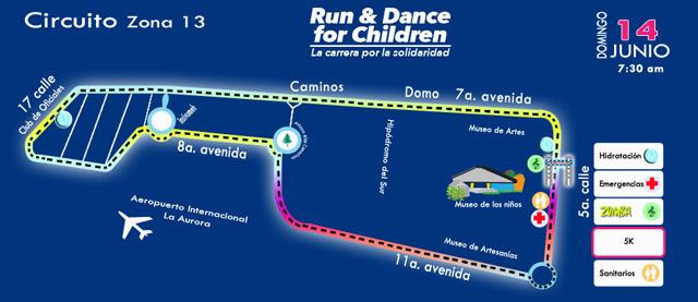 Imagen: Run and Dance for Children, la carrera de la solidaridad
